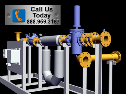 Fuel Skid Blending and Metering systems