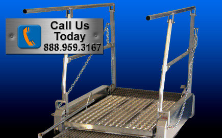 Extendable Access Bridge Gangway