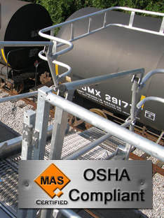 OSHA Fall Protection Loading Rack