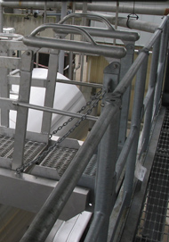 Fall Protection Safety Cage Enclosure Access Gangway Ramp